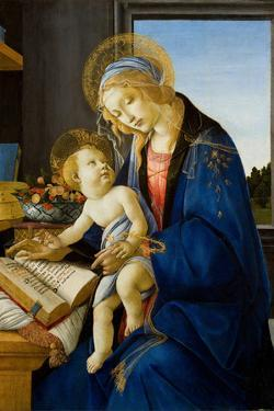 Madonna of the Book (Madonna Del Libr), 1480 by Sandro Botticelli