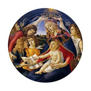 Madonna of the Magnificat, 1483 by Sandro Botticelli