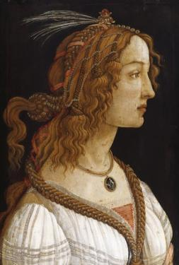 Portrait of a Young Woman by Sandro Botticelli
