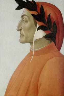Portrait of Dante Alighieri by Sandro Botticelli