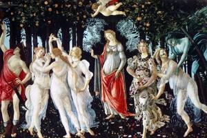 Primavera, C1478 by Sandro Botticelli