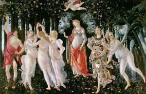 Primavera, circa 1478 by Sandro Botticelli