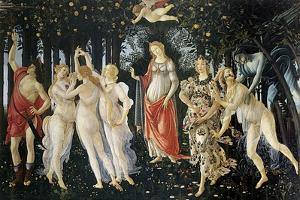 Primavera by Sandro Botticelli