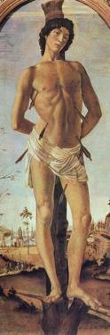 Saint Sebastian, 1474 by Sandro Botticelli
