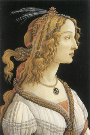 Simonetta Vespucci in Mythological Guise by Sandro Botticelli