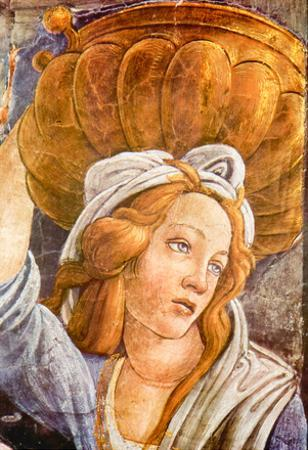 Sandro Botticelli Sistine Chapel The Youth of Moses Detail 3 Art Print Poster
