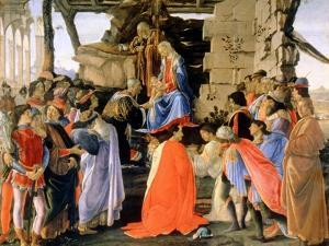 The Adoration of the Magi, C1473-1475 by Sandro Botticelli