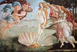 The Birth of Venus, c. 1485 by Sandro Botticelli