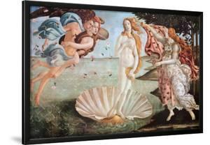 The Birth of Venus, c. 1485 by Sandro Botticelli