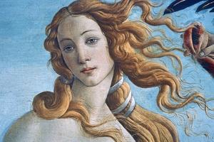The Birth of Venus (Detail), C1485 by Sandro Botticelli