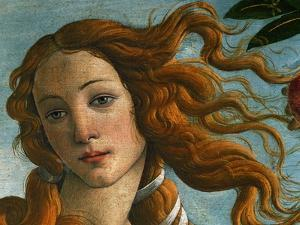 The Birth of Venus (Head of Venus), 1486 by Sandro Botticelli