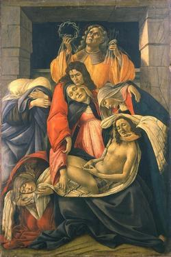 The Lamentation over the Dead Christ, 1495-1500 by Sandro Botticelli