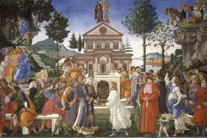 The Temptation of Christ, 1481-1482 by Sandro Botticelli