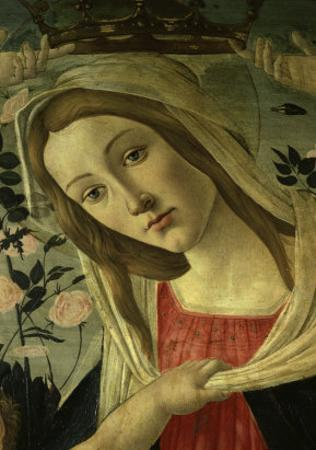 The Virgin and Child Surrounded by Angels by Sandro Botticelli