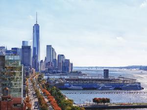 Freedom Tower Hudson View 1 by Sandro De Carvalho