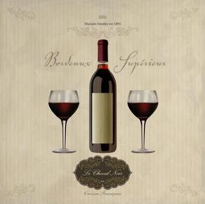 Bordeaux Superieur by Sandro Ferrari