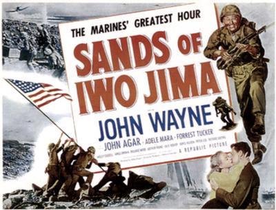 Sands Of Iwo Jima, John Wayne, 1949