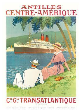 Antilles Centre Amerique c.1970s by Sandy Hook