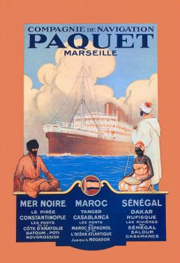 Marseille Cruise Package: Black Sea-Morocco-Senegal by Sandy Hook