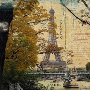 Eiffel Romance III by Sandy Lloyd