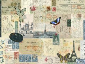 Postcards of Paris I by Sandy Lloyd