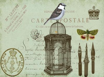 Postcards of Paris II by Sandy Lloyd