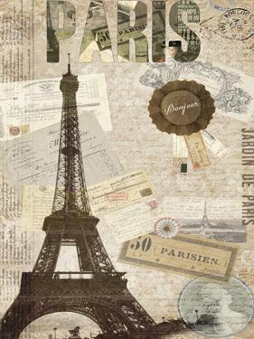 Postcards of Paris XIV by Sandy Lloyd