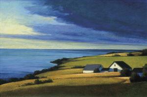 Passing Storm, Prince Edward Island by Sandy Wadlington