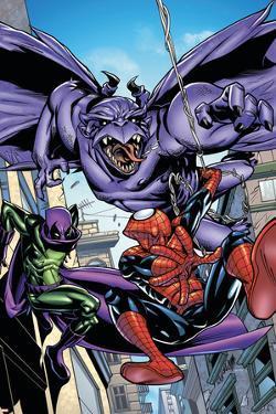 Marvel Adventures Spider-Man No.47 Cover: Spider-Man by Sanford Greene