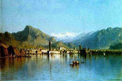 Lake Garda, Italy, 1863