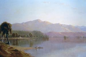 Lake George, New York, C1843-1880 by Sanford Robinson Gifford