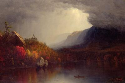 Study of a Coming Storm on Lake George, 1863