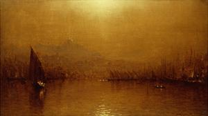 The Golden Horn by Sanford Robinson Gifford