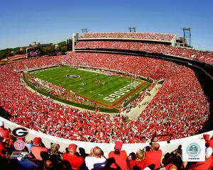 Sanford Stadium, Univserity of Georgia Bulldogs; 2007