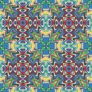 Mexican Textile Design by Sangoiri