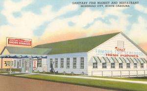 Sanitary Fish Market, Morehead City, North Carolina