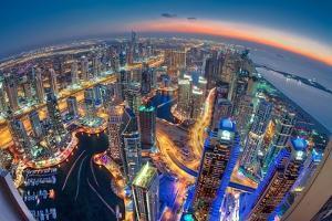 Dubai Colors of Night by Sanjay Pradhan
