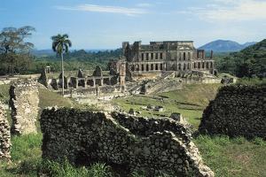 Sans-Souci Palace, 1810-1813, Milot (Unesco World Heritage List, 1982), Nord Department, Haiti