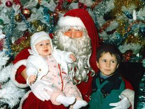 Santa Claus and Children