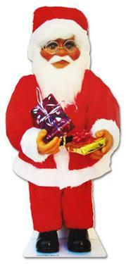 Santa Claus with Presents Lifesize Standup
