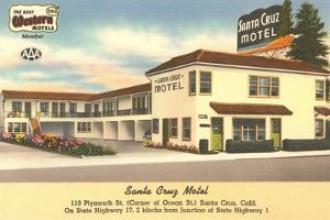 Santa Cruz Motel, California