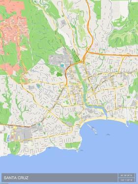 Santa Cruz, United States of America Map