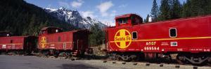Santa Fe Railroad, Shasta-Trinity National Forest, California, USA