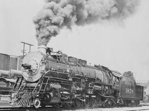 Santa Fe Railroad Steam Engine