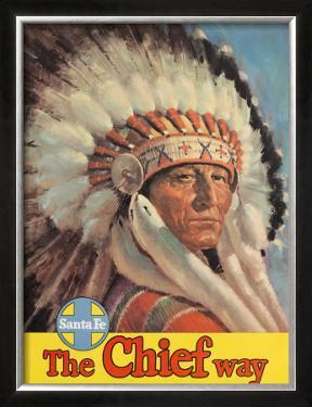 Santa Fe Railroad: The Chief Way, c.1955