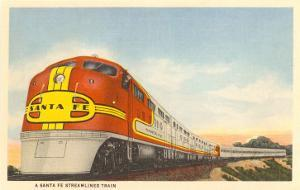Santa Fe Streamlined Train