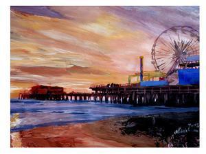 Santa Monica Pier 2 by M Bleichner