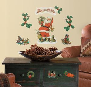 Santa Peel & Stick Wall Decals