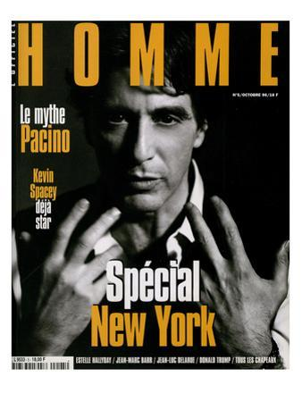 L'Optimum, October 1996 - Al Pacino by Sante D'orazio