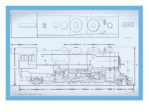 Sante Fe Mikado Type Locomotive
